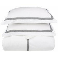 Plainpost 3 Piece Duvet Cover Set