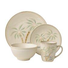Palm Everyday 16 Piece Dinnerware Set, Service for 4