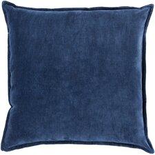 askern smooth velvet cotton throw pillow - Decorative Throw Pillows