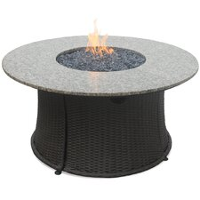 Outdoor Stainless Steel Gas Fire Pit Table