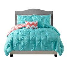 Sophia 5 Piece Reversible Comforter Set