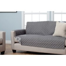 Adalyn Scroll Reversible Sofa Furniture Protector by Home Fashion Designs