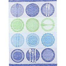 Dishes Jacquard Tea Towel (Set of 2)