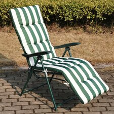 Sun Lounger with Cushion (Set of 2)