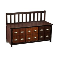 Derrymore Wood Storage Entryway Bench by Alcott Hill