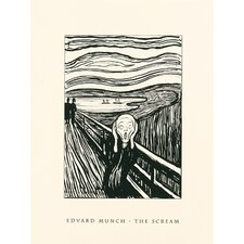 The Scream Serigraph by Edvard Munch Painting Print