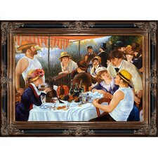 Luncheon of the Boating Party' by Renoir Framed Print Painting  by Tori Home