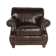Anna Club Chair by Lazzaro Leather