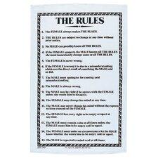 The Rules Tea Towel