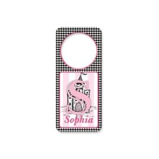 Personalized Toile Door Hanger