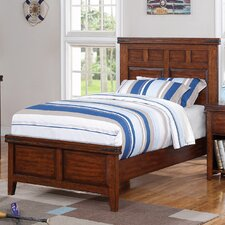 Nashoba Twin Panel Bed by Loon Peak