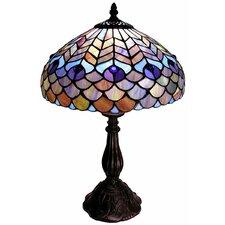 "Peacock 18"" Table Lamp"