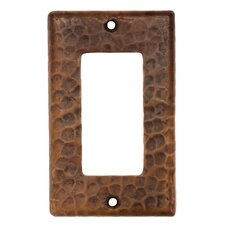 Copper Single Ground Fault Switchplate Cover (Set of 2)