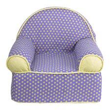Periwinkle Kids Cotton Foam Chair
