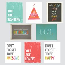 The Rules 8 Piece Paper Print Set