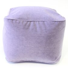 Medium Corduroy Ottoman by Gold Medal Bean Bags