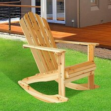 Garden Adirondack Rocking Chair