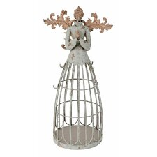 Antiqued Garden Angel with Hook Christmas Decoration