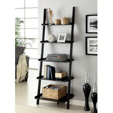 """Topsail 75"""" Leaning Bookcase"""