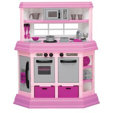 22 Piece Cook and Play Kitchen Set by American Plastic Toys