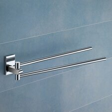 Maine Jointed Double Wall Mounted Towel Bar