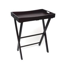 Butler Tray with Right Height Luggage Rack