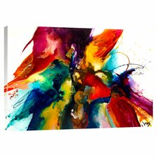 Flourish Painting Print on Wrapped Canvas