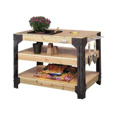 "3""W Wood Top Workbench"