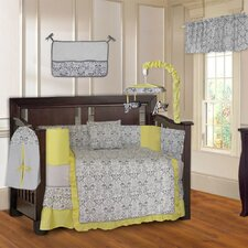 Damask 10 Piece Crib Bedding Set by Babyfad