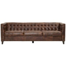 Patina Leather Chesterfield Sofa by Orient Express Furniture