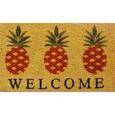 Ashby Pineapple Welcome Doormat