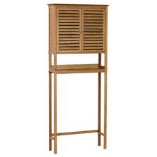 Spa 27.5 W x 67 H Over the Toilet Storage by Gallerie Decor