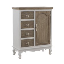 1 Door 4 Drawer Combi Cabinet