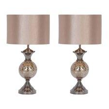 "Hettie 25"" Table Lamp Set (Set of 2)"