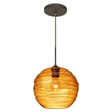 Wave 1-Light Globe Pendant