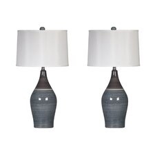 "Carrillo 28"" Table Lamp Set (Set of 2)"