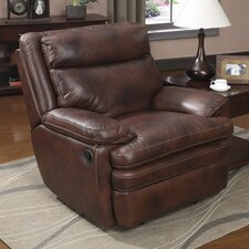Clarkston Leather Recliner by At Home Designs