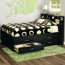 Full Storage Platform Bed