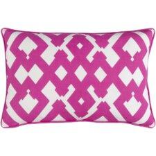 Mccarty Large Zig Zag Linen Throw Pillow