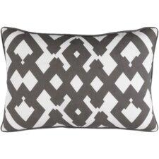 Mccarty Large Zig Zag Linen Lumbar Pillow