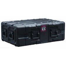 "Box 4U Rack Mount Case: 24.6"" x 38.5"" x 13.1"""