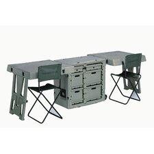 Double Duty Field Computer Desk