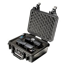 "Equipment Case with Foam: 9.5"" x 10.63"" x 5"""