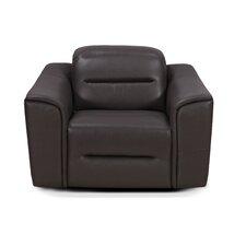 Denzel Leather Arm Chair by Hokku Designs