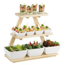 Triangle Buffet Stand