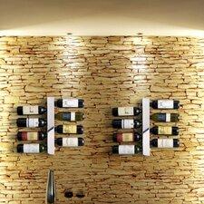 Blast 8 Bottle Wall Mounted Wine Rack by Vynebar