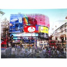 Poster Piccadilly Circus, Fotodruck