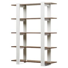 "62"" Accent Shelves Bookcase"
