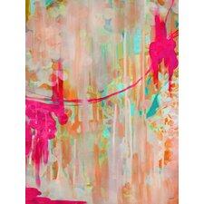 Neon Jellyfish Wall Mural