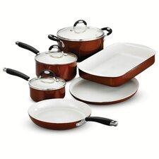 Style Ceramica 9 Piece Cookware Set